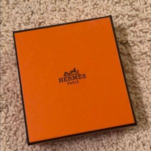 Hermes necklace box